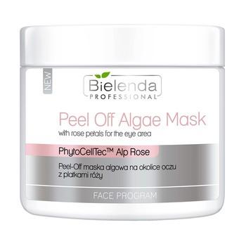 Bielenda Professional, Peel-Off maska algowa na okolice oczu z płatkami róży, 90g