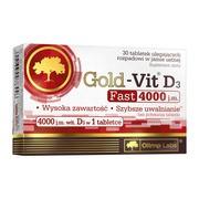 Olimp Gold-Vit D3 4000 Fast, tabletki ulegające rozpadowi w jamie ustnej, 90 szt.