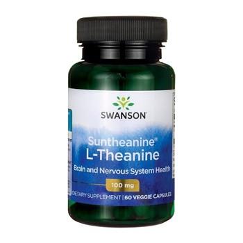 Swanson Suntheanine L-Teanina, kapsułki, 60 szt.