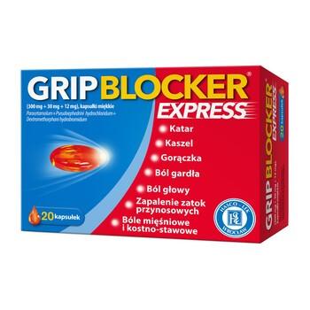 Gripblocker Express, kapsułki miękkie, 20 szt.