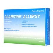 Claritine Allergy (Claritine SPE), 10 mg, tabletki, 7 szt (import równoległy, Delfarma)