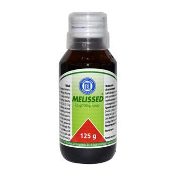 Melissed, 490 mg/5 ml, syrop, 125 g (Hasco)