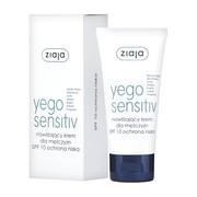 Ziaja Yego Sensitiv, nawilżający krem dla mężczyzn, SPF10, 50 ml