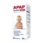 Apap dla dzieci forte, 40 mg/ml, zawiesina doustna, 85 ml