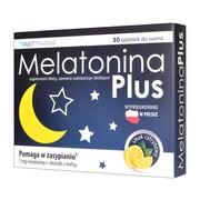 Melatonina Plus, tabletki do ssania, 30 szt.