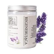 Fresh&Natural, regenerująca sól do kąpieli z lawendą i witamina B5, 1000 g