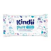 Cleanic Kindii, Pure Sensitive, chusteczki dla niemowląt i dzieci, 60 szt.