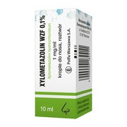 Xylometazolin (WZF) 0.1%, krople do nosa, 10 ml