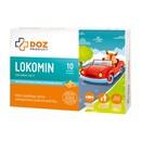 DOZ PRODUCT Lokomin, pastylki do ssania, smak pomarańczowy, 10 szt.