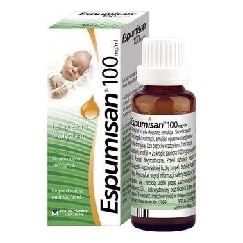 Espumisan 100 mg/ml, krople doustne, 30 ml