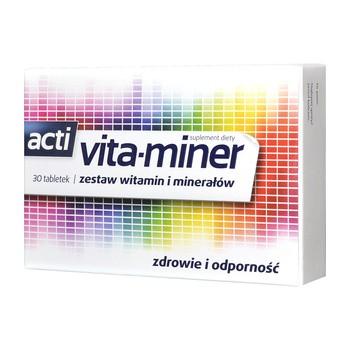 Acti Vita-miner, tabletki, 30 szt.