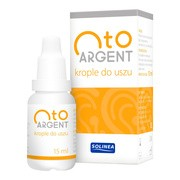 Otoargent, krople do uszu, 15 ml