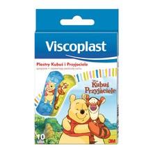 Viscoplast Kubuś Puchatek, zestaw plastrów dla dzieci, 10 szt.
