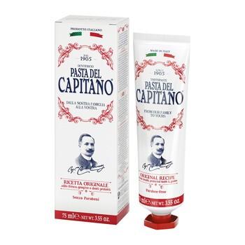 Pasta del Capitano, pasta do zębów, oryginalna receptura, cynamonowa, 75 ml