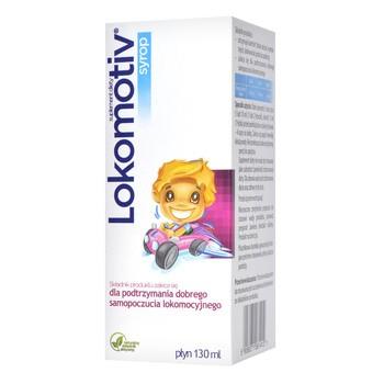 Lokomotiv, syrop dla dzieci, 130 ml