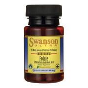 Swanson Folian Quatrefolic 400 µg, kapsułki, 30 szt.