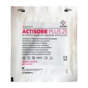 Actisorb Plus 25, opatrunek, 10,5 x 10,5 cm, 1 szt.