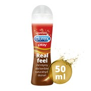 Durex Play, Real Feel, żel intymny, 50 ml