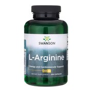 L-arginina, kapsułki, 200 szt.