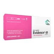 Evidence-10, test ciążowy, strumieniowy, 1 szt.
