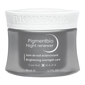 Bioderma Pigmentbio Night Renewer, rozjaśniający krem na noc redukujący przebarwienia, 50 ml