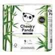 Cheeky panda, papier toaletowy z bambusa, trójwarstwowy, 9 szt.