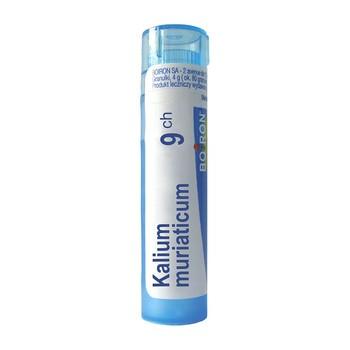 Boiron Kalium muriaticum, 9 CH, granulki, 4 g