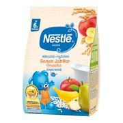 Nestle, kaszka mleczno-ryżowa, banan jabłko gruszka, 6 m+, 230 g