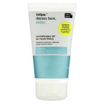 Tołpa Dermo Face Sebio, normalizujący żel do mycia twarzy, 150 ml