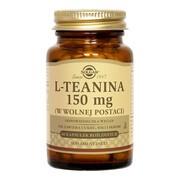 Solgar L-Teanina, 150 mg, kapsułki, 60 szt.