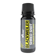 Olimp Blackweiler Shred Shot, płyn, smak lemon apple, 60 ml