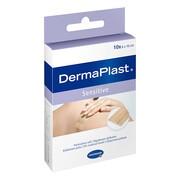 Dermaplast Sensitive, plastry, 6 x 10 cm, 10 szt.