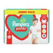 Pampers Pants 7 (17+ kg), pieluchomajtki jednorazowe, 38 szt.