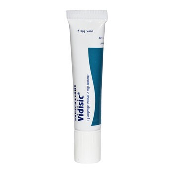 Vidisic, 2 mg/g, żel do oczu, 10 g (import równoległy, Delfarma)