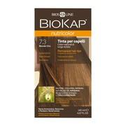 Biokap Nutricolor, farba do włosów, 7.3 złoty blond, 140 ml