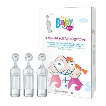 BabyCap, ampułki soli fizjologicznej, 5 ml x 10 ampułek