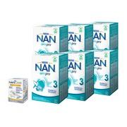 Zestaw 6x Mleko Nan Optipro 3 + NanCare Vitamin D