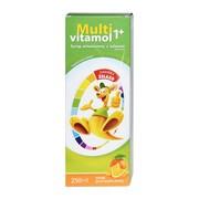 Multivitamol 1+, syrop witaminowy z żelazem, 250 ml