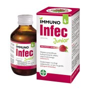 ImmunoINFEC Junior, syrop dla dzieci o smaku malinowym, 150 ml