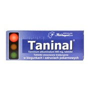 Taninal, 500 mg, tabletki, 20 szt.