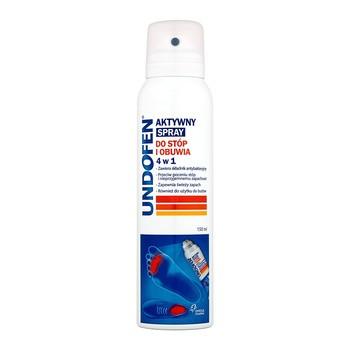 Undofen aktywny spray do stóp i obuwia 4 w 1, 150 ml