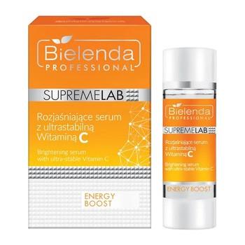 Bielenda Professional SupremeLAB Energy Boost, serum rozjaśniające skórę z ultrastabilną witaminą C, 15 ml