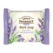 Green Pharmacy, mydło w kostce, lawenda i olej lniany, 100 g