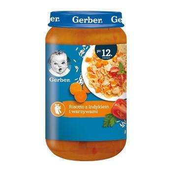 Gerber, risotto z indykiem i warzywami, 12 m+, 250 g