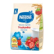 Nestle, kaszka mleczno-ryżowa, truskawka, 6 m+, 230 g