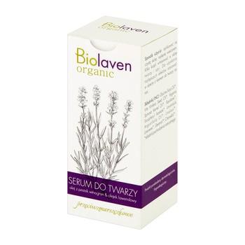Biolaven Organic, przeciwzmarszczkowe serum do twarzy, 30 ml
