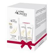 Zestaw Promocyjny Long 4 Lashes, serum do rzęs, 3 ml + szampon wzmacniający, 50 ml + odżywka wzmacniająca, 50 ml GRATIS