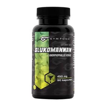 Gym Food Glukomannan, kapsułki, 90 szt.