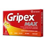Gripex Max, tabletki powlekane, 20 szt.