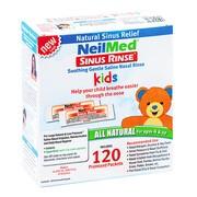 Sinus Rinse, zestaw do płukania dla dzieci, uzupełnienie, 120 saszetek